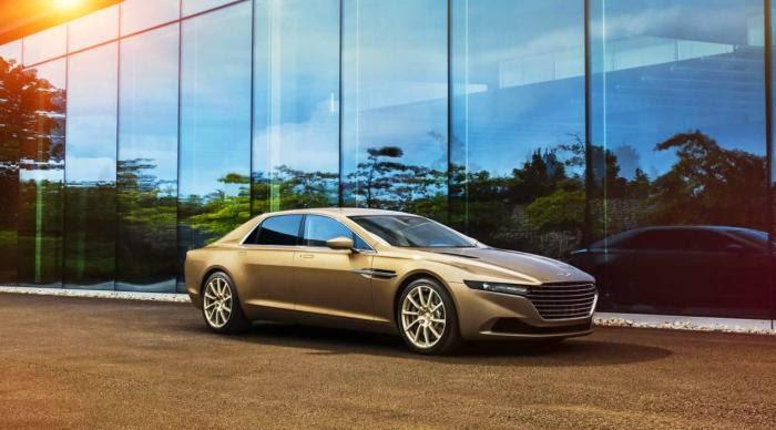 Aston Martin altera planos de venda do Lagonda Tarif