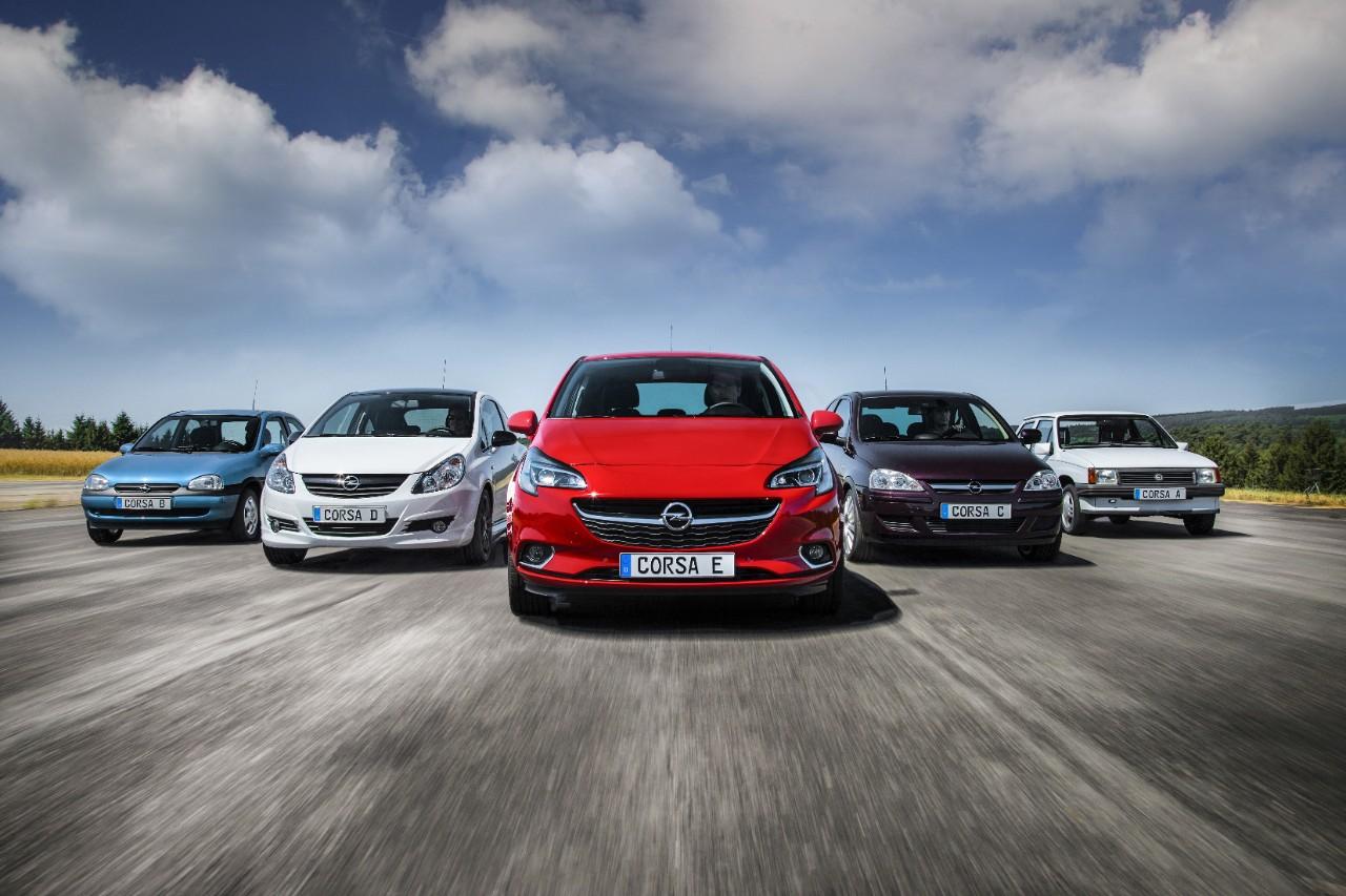 Opel Corsa atinge as 750.000 unidades