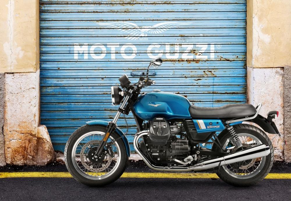Moto Guzzi V7 faz 50 anos!
