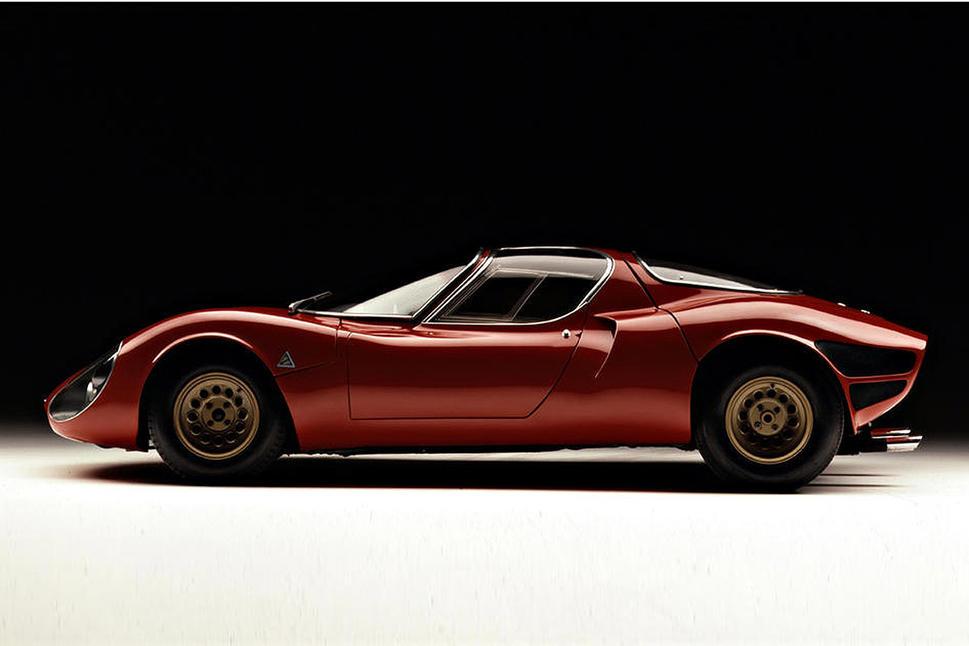 50 anos do lendário Alfa Romeo 33 Stradale