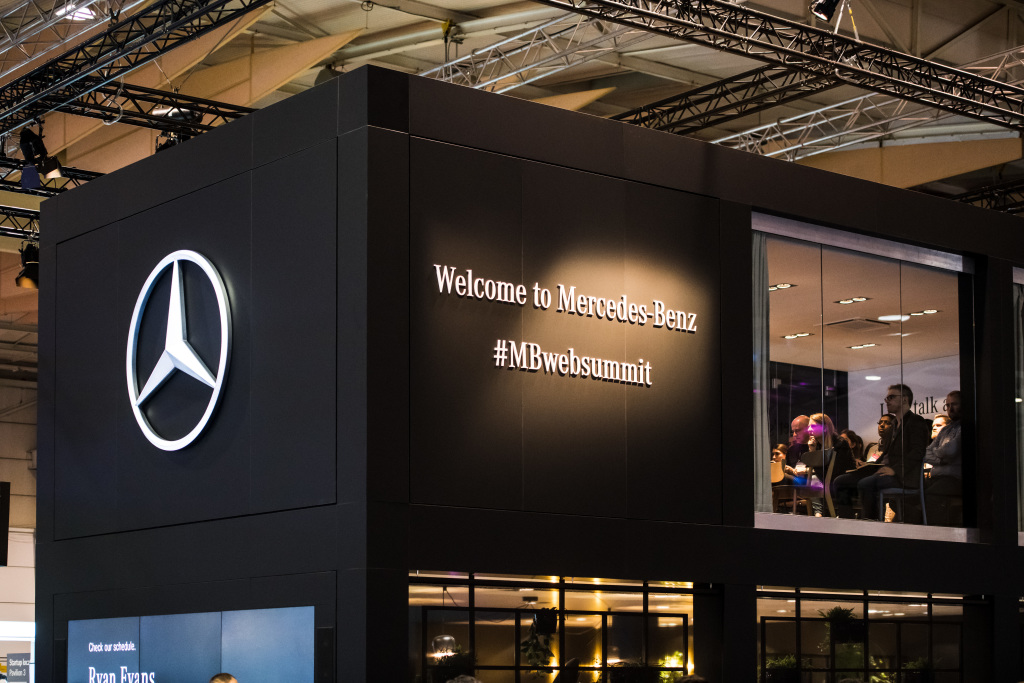 Mercedes-Benz na WebSummit 2018