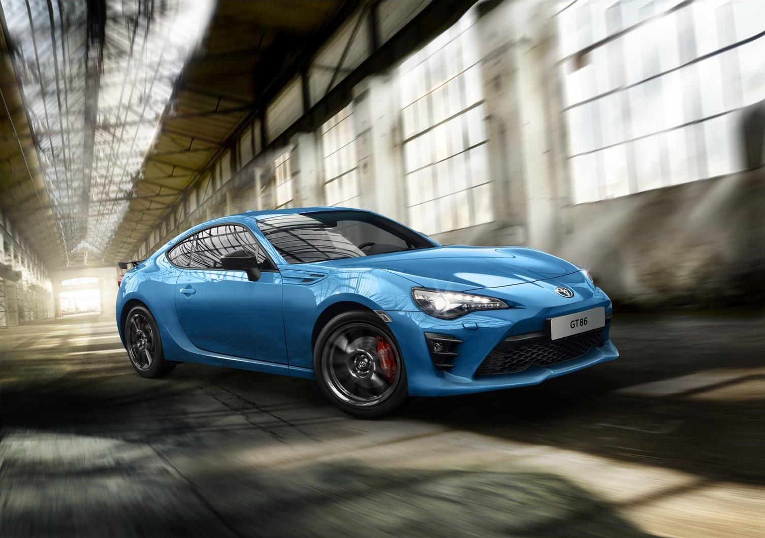 Toyota celebra os seus 50 anos com edição especial GT86
