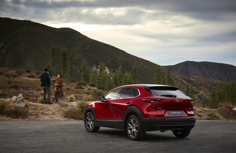 Mazda apresenta o seu novo SUV CX-30 em Genebra