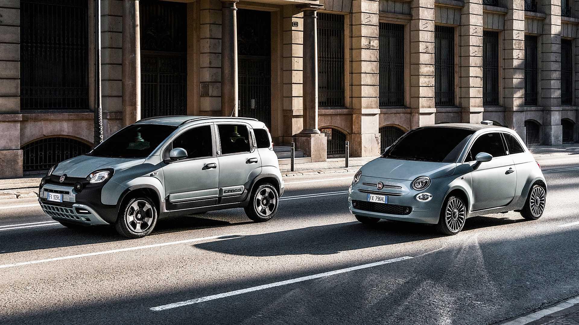 """FIAT """"eletrifica"""" Panda e 500 graças à nova versão Hybrid"""