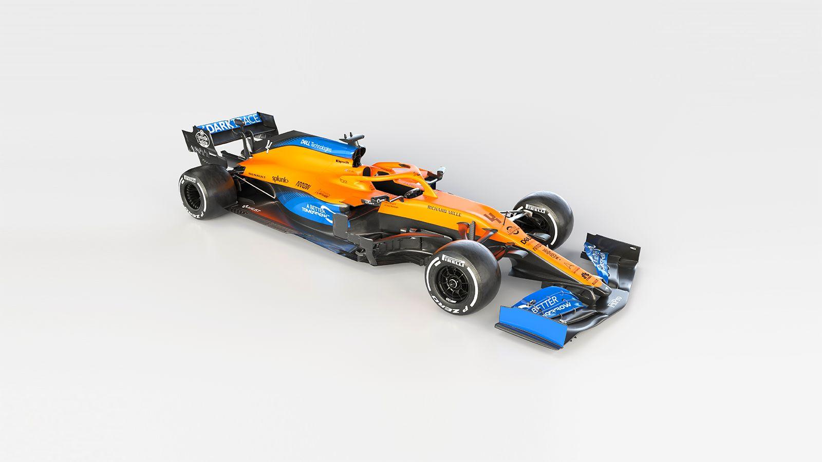 McLaren apresenta MCL35 para 2020