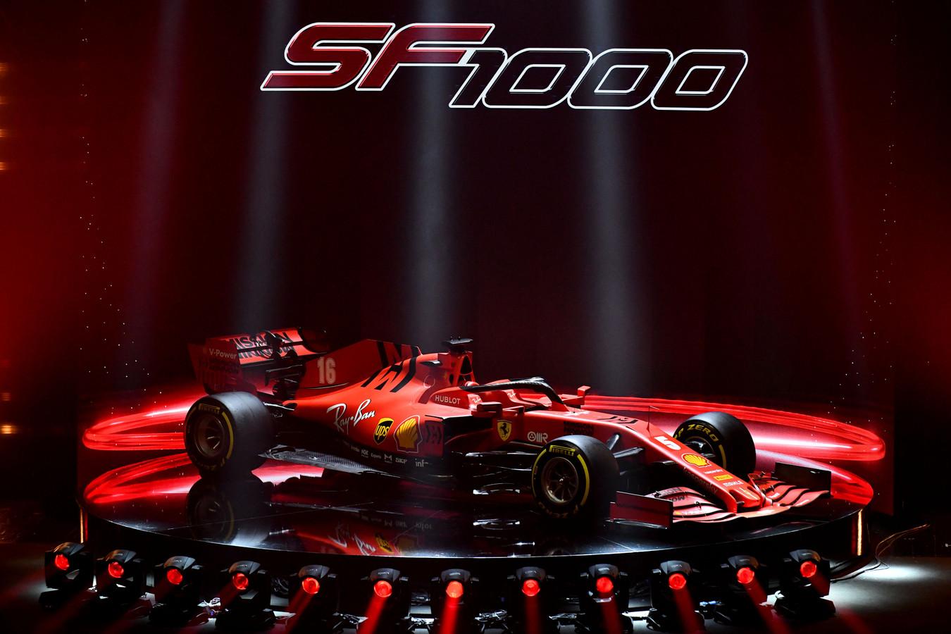 """Ferrari apresenta SF1000 com """"pompa e circunstância"""""""
