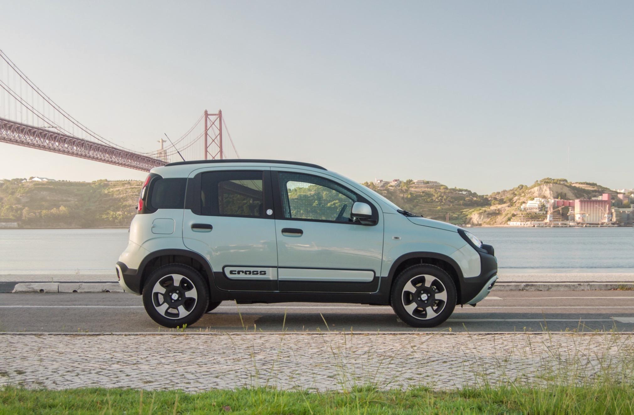 FIAT Panda Hybrid – Turma de 80 com tecnologia híbrida de século XXI
