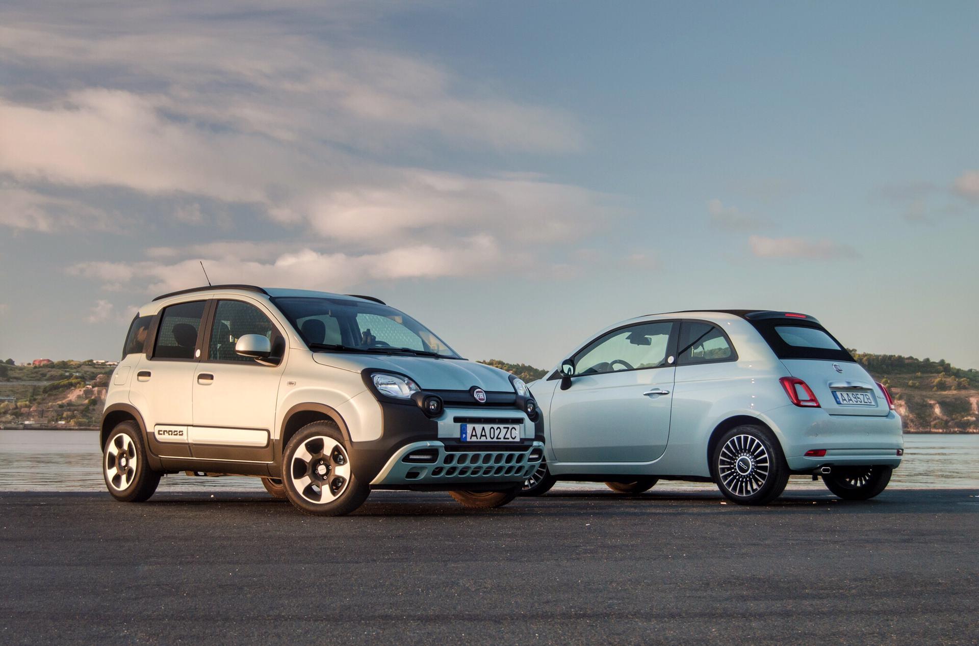 """""""Será um melhor que o outro?"""" – FIAT 500C Hybrid e Panda Hybrid juntos em Lisboa"""
