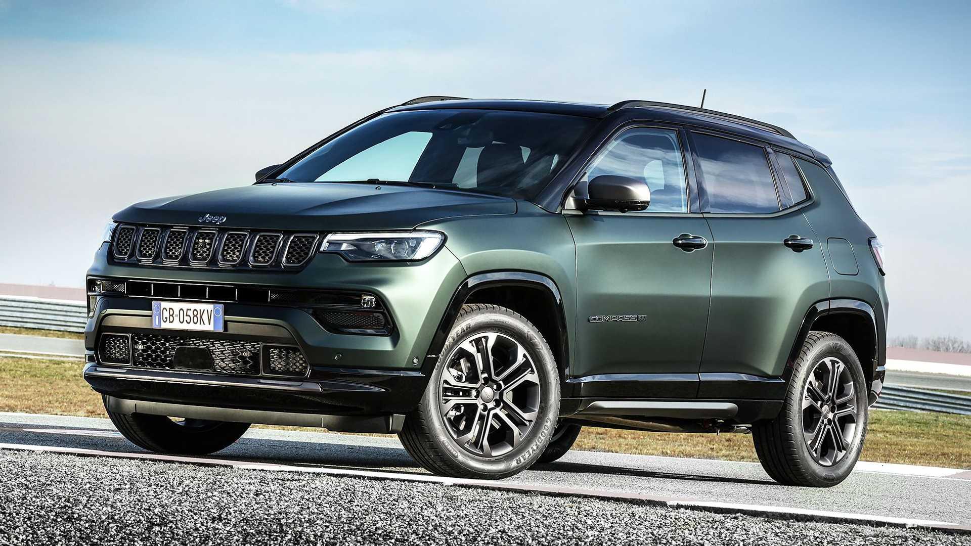 Jeep comemora 80 anos e renova o Compass