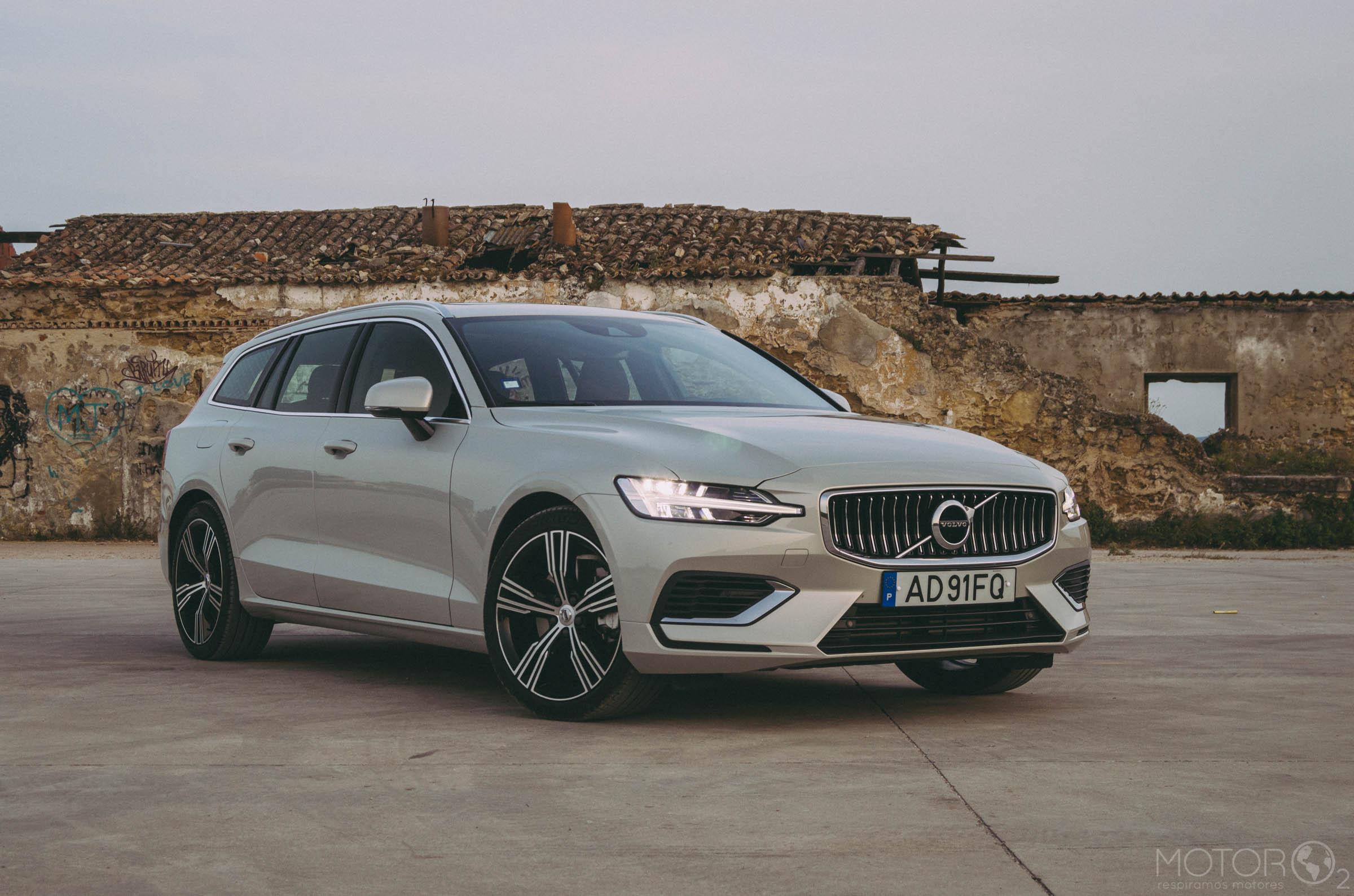 "Volvo V60 T6 Recharge: ""Postal Volvo"""