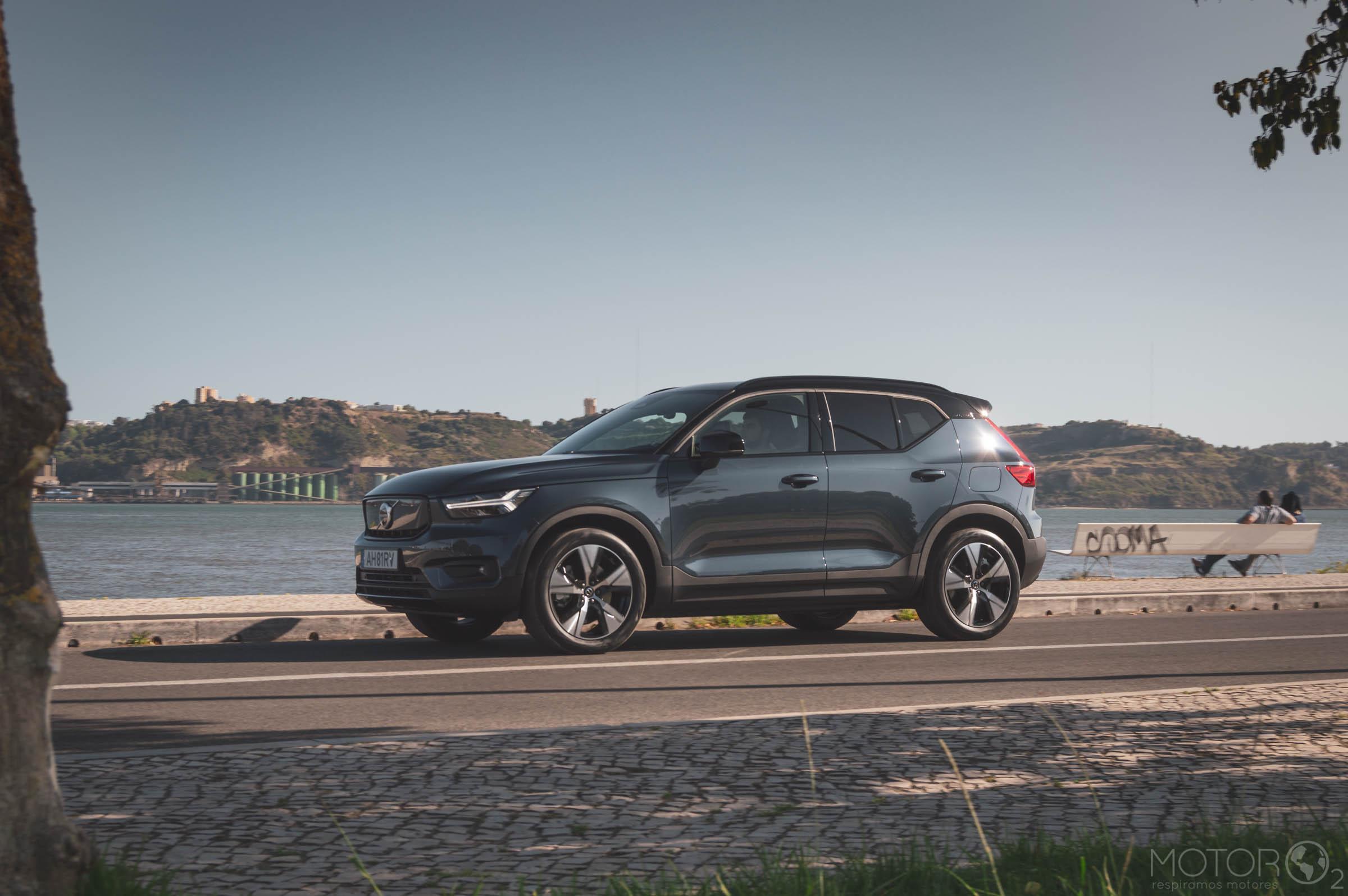 Volvo introduz o XC40 Recharge P6 no mercado nacional